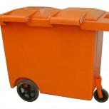 Xe đựng rác composite 660 Lit
